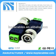 Coax BNC CAT5e To Camera CCTV Video Balun Connector