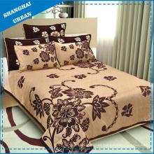 Sábana de cama y colcha de algodón (hoja)