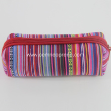 Promotion Striped Custom Neoprene Pencil Cases