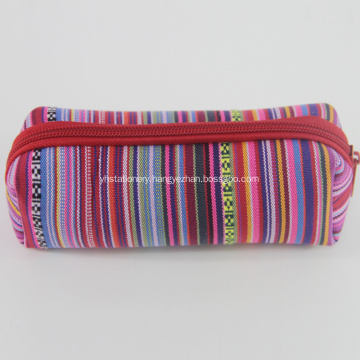Promotion Striped Custom Neoprene Pencil Cases