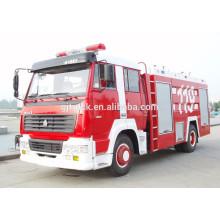 Camión de bomberos de Sinotruk HOWO 4X2 / Desierto / Camión de extinción de incendios forestales / camión de bomberos de rescate