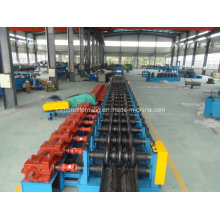 Drei Wellen Guard Rail Roll Forming Machine