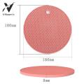 Non-slip Round Shape Silicone Coffee Table Mat