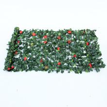 Forme a pared la cubierta plástica verde decorativa para el uso al aire libre