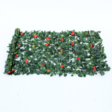 Fashion wall decorative green plastic covering for outdoor use