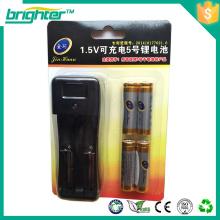 Grossistas China 1.5v aa lr6 bateria recarregável com baixo preço