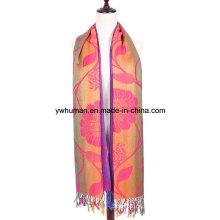 Mode Jacquard Polyester Schal