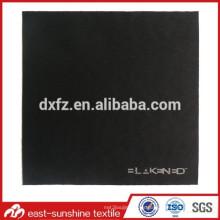 Paño de plata de la lente de Microfiber del logotipo del polvo del OEM; High Quanlity gafas de sol de tela para la limpieza