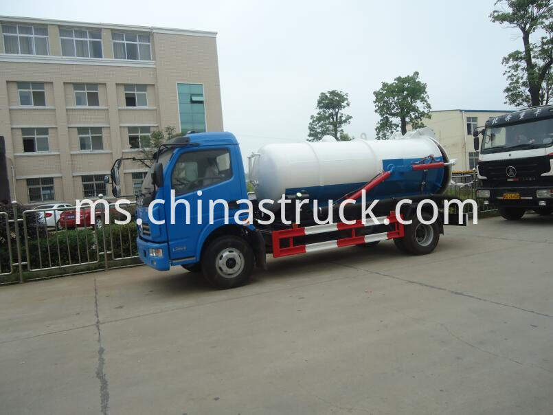 5Ton waste oil suction truck