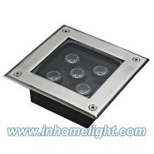 Luzes subterrâneas conduzidas quadrado 5W IP68