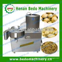 Máquina de cortar e descascar batatas fritas