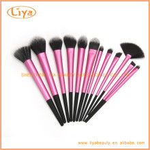 wholesale 12pcs Synthetic cosmetic beauty needs makeup Brush Sets With Logo Print