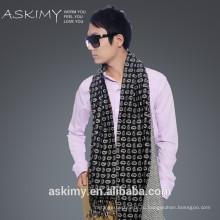 2015 мода100% шерсть мужской шарф