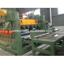China alta qualidade 4-16mm bobina de aço de nivelamento e corte de corte para máquina de comprimento
