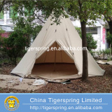 Luxury Canvas Camping Tent 5 person Camping Teepee Tent