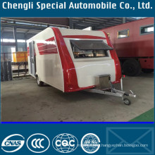 China Designer Top Design Customized Ice Cream Trailer