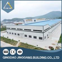 1000 mètres carrés Bâtiment préfabriqué en acier galvanisé