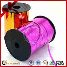 Einfarbige Geschenkverpackung Bow Curly Ribbon für Blloons