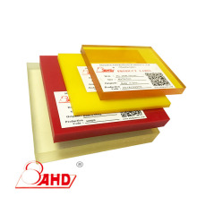 Price of Polyurethane Plastic Rubber Sheet