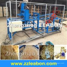 Laine de bois 600-800kg / H faisant la machine pour le conseil de rasage, machine en bois de laine pour le panneau acoustique