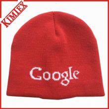 Мода акриловые трикотажные шапки жаккардовые шапочка