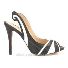 sexy ladies shoes thin heel summer shoes zebra-stripe fashion sandals