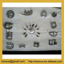 Stock shoe buckles from China Yiwu Market