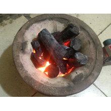 Charbon de bois blanc sans fumée à vendre / Charbon de bois blanc d'eucalyptus
