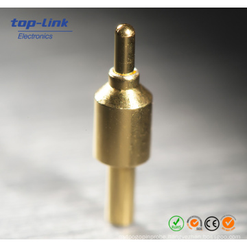 Customized Hole Gold-Plated Brass Charger Pogo Pin Connector