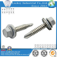 Stainless Steel 304 Hex Washer Head Roofing Screw Roof Screw