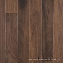 Revestimento de madeira de nogueira americana de várias camadas