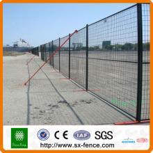 Высокое качество оцинкованной временный забор ISO9001 фабрика