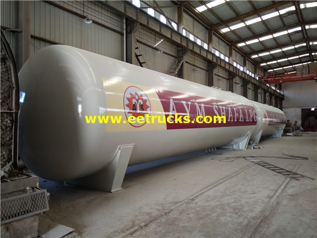 100 CBM Domestic LPG Steel Gas Tanks
