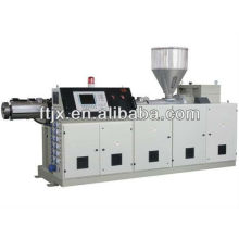 Single screw pipe extruder