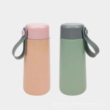 180ml Mini-Isolierflasche aus Edelstahl mit Tasche