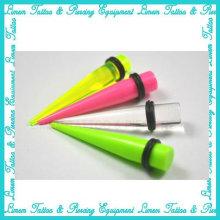 UV Acryl Stretcher Ohr Expander Piercing Schmuck Ohr Stecker Ohr Tunnel