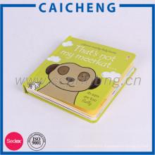 Impresión personalizada cubierta dura libro de mesa para niños