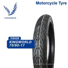 vente de pneus en caoutchouc 70/90-17 pour moto chaude 2015