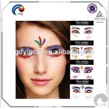 Eye Temporary Tattoo Makeup Tattoo, Eyelids Black Lace Tattoo, Party from Festival Temporary Tattoos Eye Shadow Transfer Stickers Makeup Cosplay<<< Temporary Tattoo Transfer Makeup Eyeshadow<<< Masquerade Temporary Tattoo Makeup Eyes Eyeshadow<<<