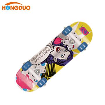 Todas las clases de las ruedas grandes tablas de skate de madera china