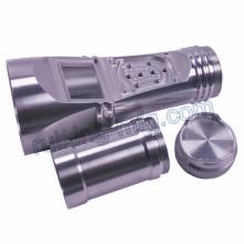 Pièces d'aluminium d'usinage de torche
