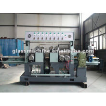 QJ877A-8-2 new design glass grinding machine with 8 spindles