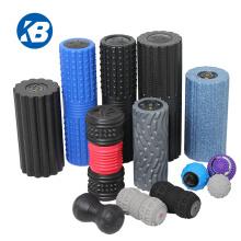 2021 New Design Custom  EPP High Density LED Display Electric Yoga Fitness Vibrating Foam Roller