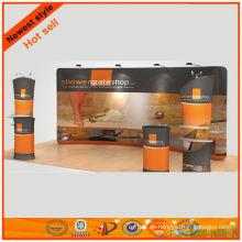 exhibiciones de gran tamaño para la cabina de tela de malla 10x29 'del diseño de Shanghai