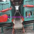 Machine d'épluchage de bois de rendement élevé avec la double fente