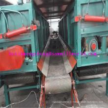 Machine d'épluchage de rondin de rendement élevé avec la double fente
