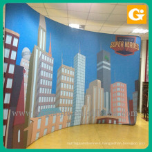 Pop Up banner Display City Culture Publicity Banner Stand fabric banner