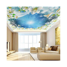 Custom designs low iron clear toughened glass UV digital printing tempered glass
