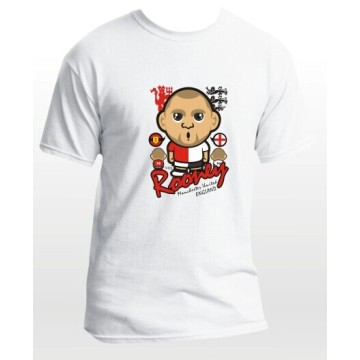 2014-15 season EPL club team Manchester United soccer fan cartoon t-shirts