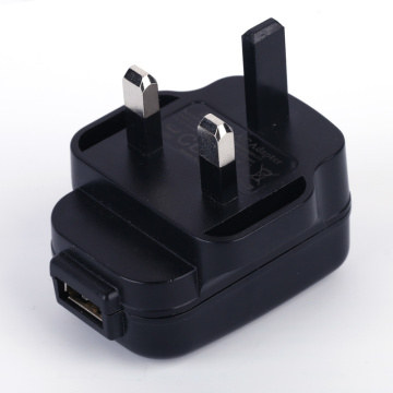 Usb power adapter 5V1A UK plug